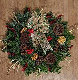 Deco wreath