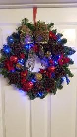 Blue shadow wreath